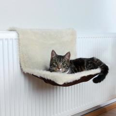 Trixie гамак на батарею для кошки бежевый 45х26х31 см
