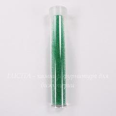 Микробисер зеленый в тубусе, 0,7 мм, 5 гр