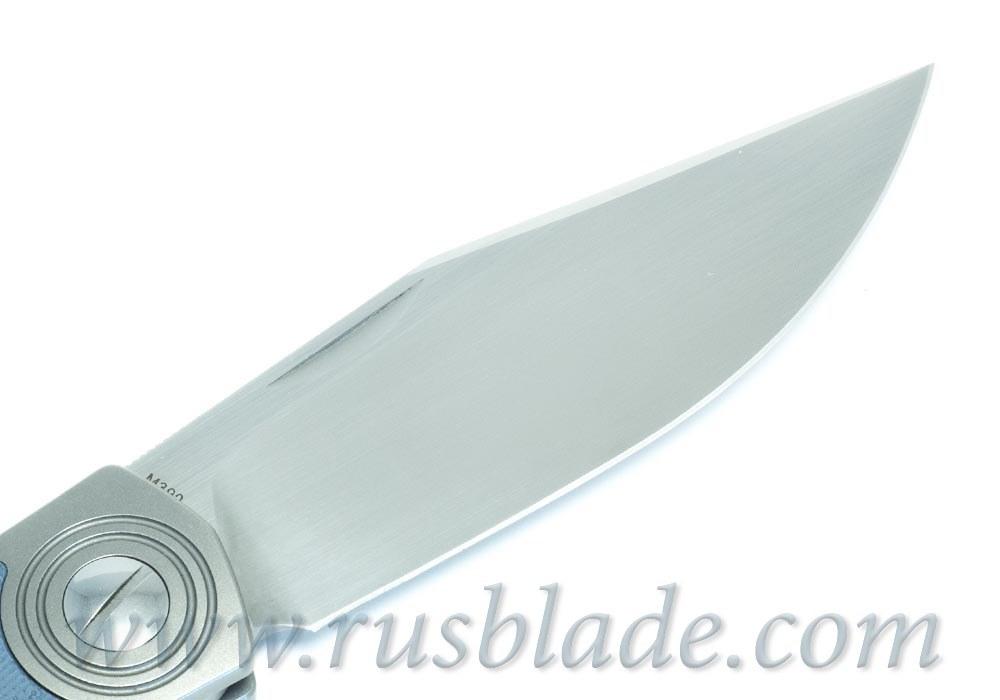 CKF Veksha (Belka) knife (G10 blue)
