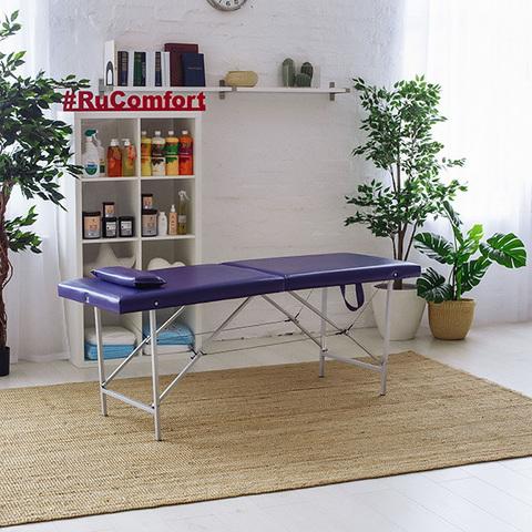 Складной массажный стол RuComfort (180х57x70) Compact 57