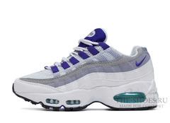 Кроссовки Женские Nike Air Max 95 White Grey Violet