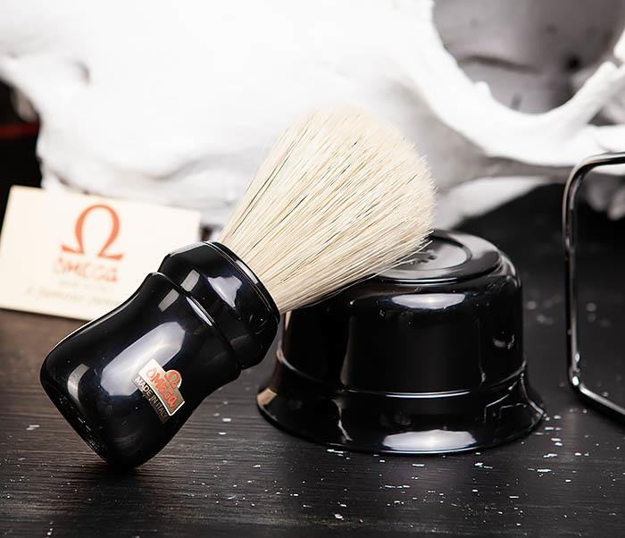 RAZ410-1 Набор для бритья из помазка, чаши и подставки фото 05