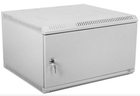 Шкаф ЦМО ШРН-Э-9.650.1 телекоммуникационный настенный разборный 9U (600 × 650) дверь металл