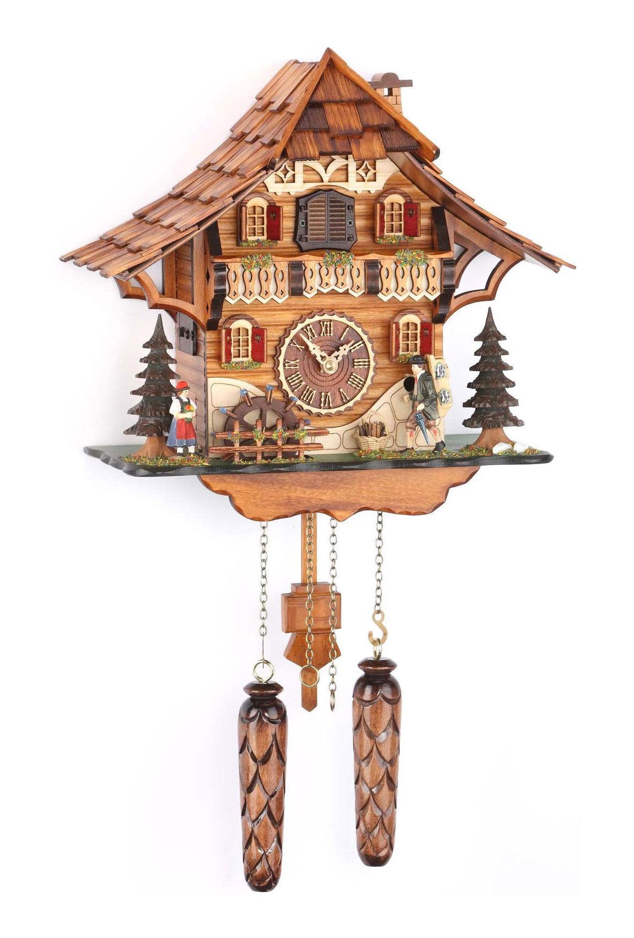 Часы настенные Часы настенные с кукушкой Trenkle 478 QM HZZG chasy-nastennye-s-kukushkoy-trenkle-478-qm-hzzg-germaniya.jpg