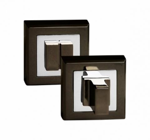 Фурнитура - Завёртка Сантехническая квадратная Palidore OLS, цвет чёрный никель