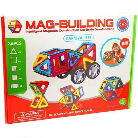 Магнитный конструктор MAG-BUILDING (36 дет.)