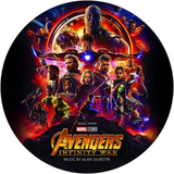 Soundtrack / Alan Silvestri: Avengers - Infinity War (Picture Disc)(LP)