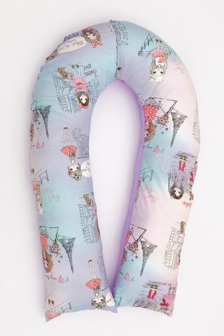 Подушка для беременных U360 (лебяжий пух) 10552 розовый