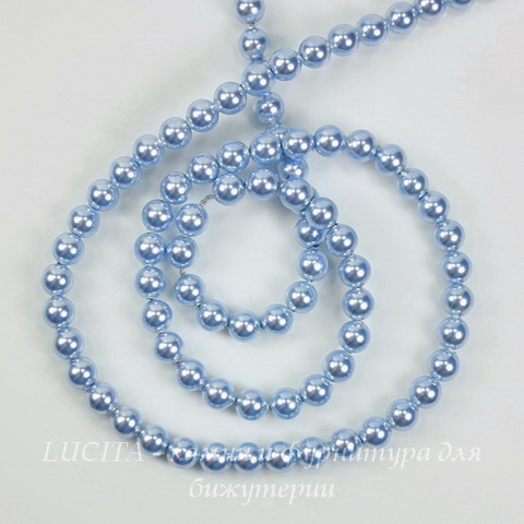 5810 Хрустальный жемчуг Сваровски Crystal Light Blue круглый 4 мм, 10 штук ()