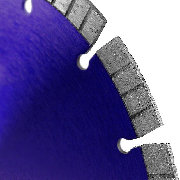 Диск алмазный турбосегментный MESSER FB/Z по железобетону, с возможностью сухой резки  300D-2.8T-12W-20S-25.4