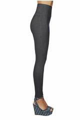 Легинсы утягивающие высокие с эффектом джинс