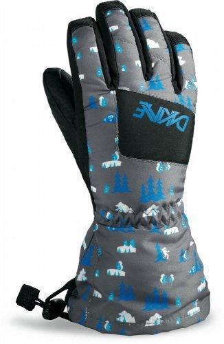 Детские варежки и перчатки Перчатки горнолыжные Dakine Yukon Glove Creatures edmsc0d.jpg