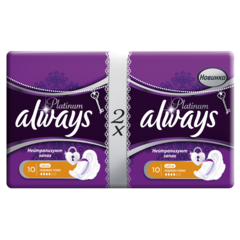 "Прокладки ""Always"" Ultra Platinum Normal Plus Duo 20шт"