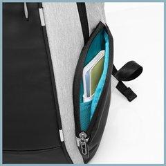 Рюкзак с карманами для ноутбука 15,6 KAKA 2215 чёрно-серый