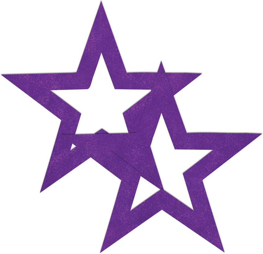 Перчатки и аксессуары: Фиолетовые пестисы-звёзды