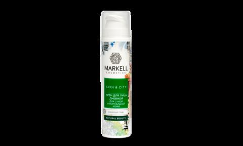 Markell Skin&City Крем для лица Дневной для сухой и нормальной кожи Снежный гриб 50мл