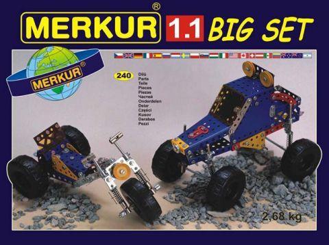 Merkur M-1112 Металлический конструктор Конструктор машин BIG Set