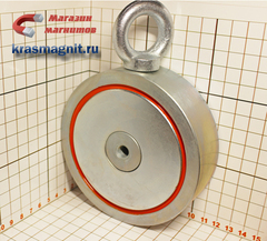Двухсторонний поисковый магнит Редмаг F-600Х2