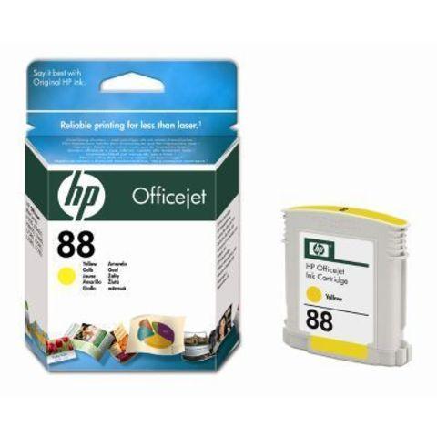 Картридж HP C9388A (№88 ) yellow - желтый картридж для Hewlett-Packard OfficeJet Pro K550, K5400,  L7580, L7680, L7780. Ресурс: 620 стр. Объем 10ml.