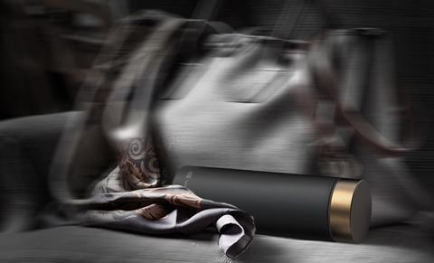 Термос Asobu Le baton (0,5 литра), черный/золотистый