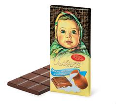"Шоколад ""Алёнка"" много молока 100г"