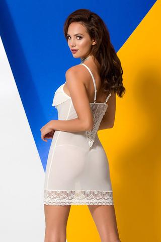 Сорочка + стринги Ariel цвета экрю фото