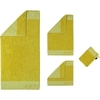 Полотенце 80х150 Cawo-JOOP! Imperial Doubleface 1638 желтое