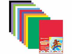 660073 Цветная пористая резина, радужная