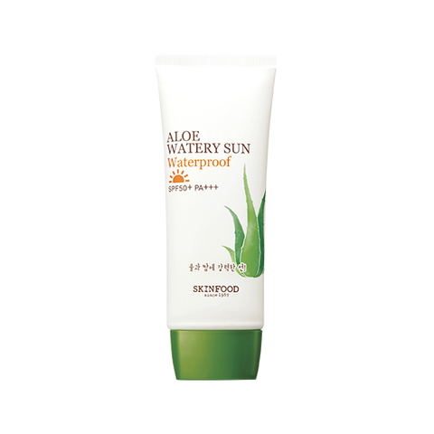 Солнцезащитное средство SKINFOOD Aloe Watery Sun Waterproof SPF50+ PA+++ 50ml