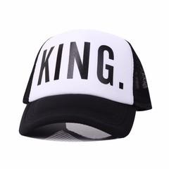 Кепка KING черно-белая