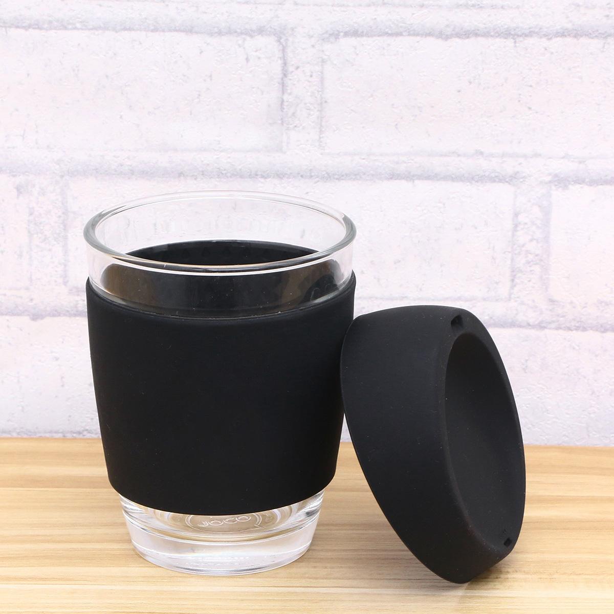 Кружка Coffee Cup из боросиликатного стекла 340 мл. черный