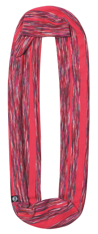 Шарф-снуд хлопковый Buff Wild Pink Stripes