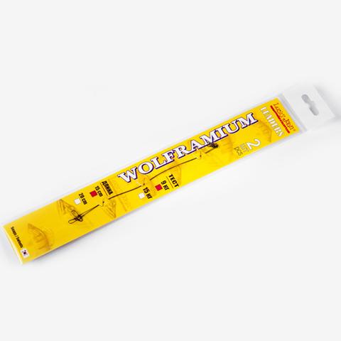 Поводки вольфрамовые Lucky John нагрузка 15 кг, длина 20 см, уп. 2 шт.