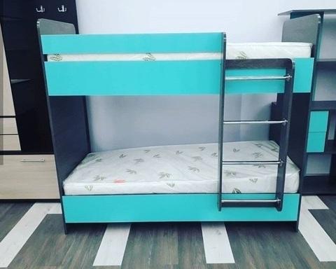 Кровать двухъярусная ДАЙСЕН правая