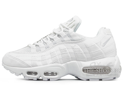 Кроссовки Женские Nike Air Max 95 Triple White