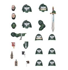 Dark Angels Primaris Upgrades [предзаказ]