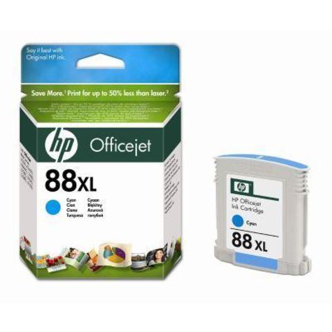 Картридж HP C9391A (№88XL) cyan - голубой картридж увеличенной ёмкости для Hewlett-Packard OfficeJet Pro K550, K5400,  L7580, L7680, L7780. Ресурс: 1980 стр. Объем 19 ml