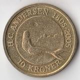 K6228, 2005, Дания, 10 крон Сказки Андерсена