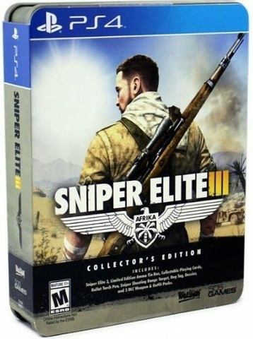 PS4 Sniper Elite 3 - Collector's Edition (английская версия)
