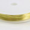 Проволока латунная 0,4 мм, цвет - латунь, примерно 15 метров