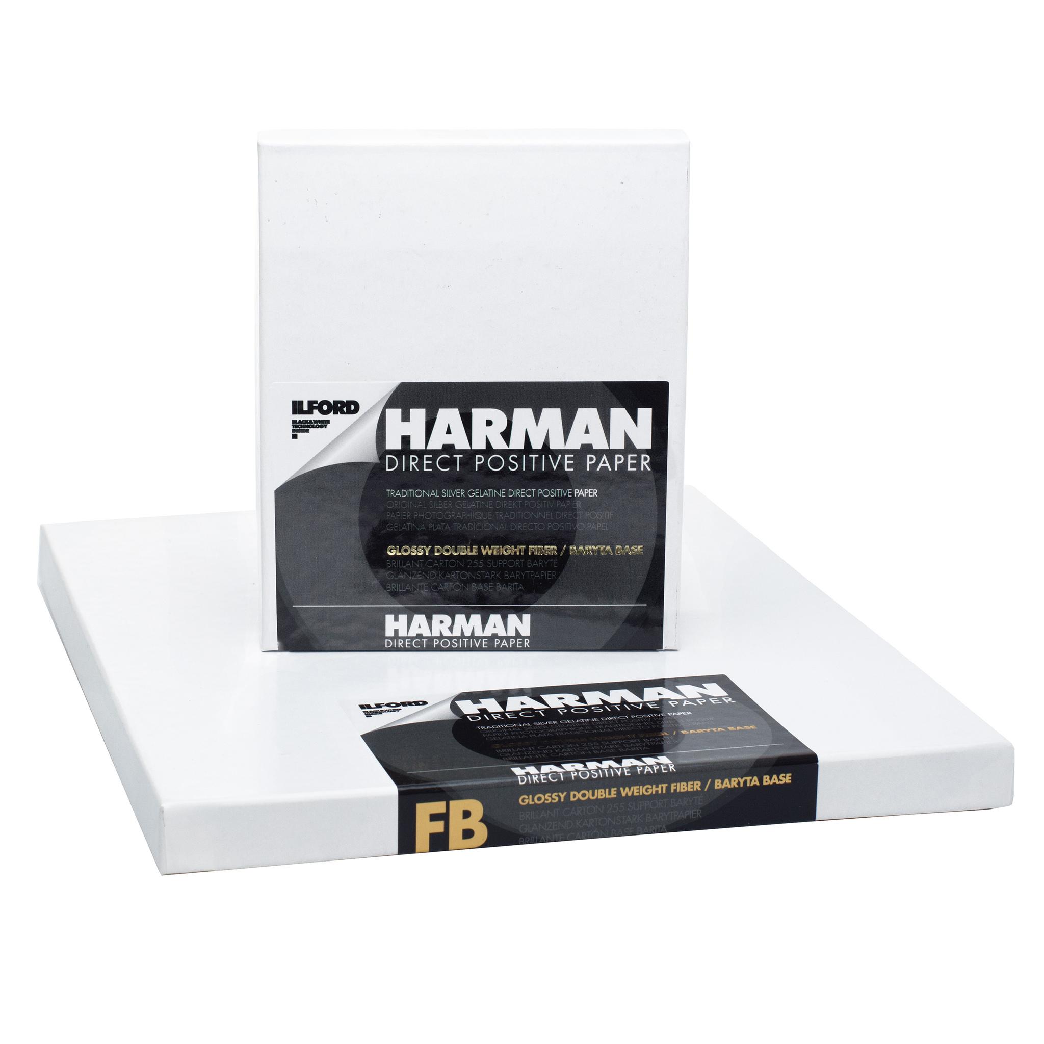 Фотобумага Harman Direct Positive, глянцевая, 10х13, 25 л