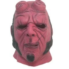 Хэллбой маска латексная