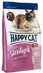 Корм для стерилизованных кошек Happy Cat Sterilised Альпийская говядина