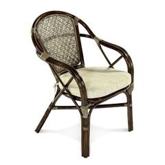 Кресло из натурального ротанга высокое