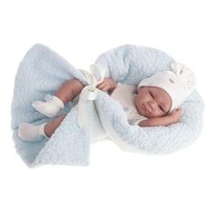 Munecas Antonio Juan Кукла-младенец Пабло (мальчик) в голубом, 42 см (5061B)