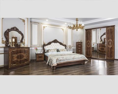 Спальня модульная ПАТРИСИЯ караваджо глянец