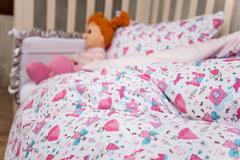 Детское постельное белье German Grass Kinder розовое