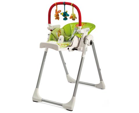 Развивающая дуга с игрушками Peg Perego Play Bar High Chair