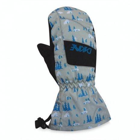 Детские варежки и перчатки Варежки сноубордические Dakine Yukon Mitt Creatures e329uh4r4d.jpg