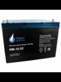 Аккумулятор Парус Электро HM-12-55  ( 12V 55Ah / 12В 55Ач ) - фотография
